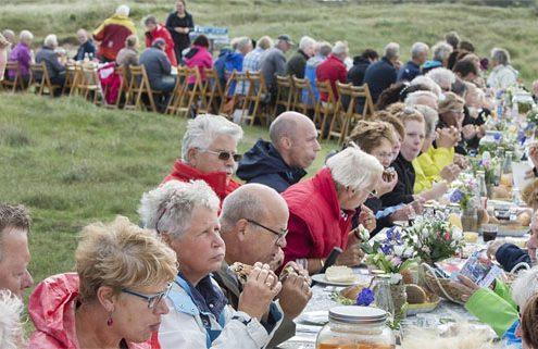 Catering in de duinen